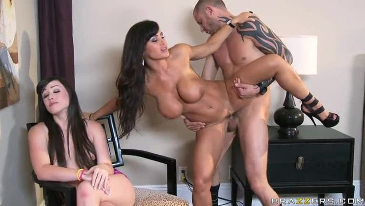 Lisa Ann Double Blowjob