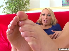 Foot Fetish Sex Video Featuring Jordan Albastru Și Melanie Monroe