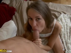 Seductive Russian Young Prostitute Angel Anya Is To Suck A Cock