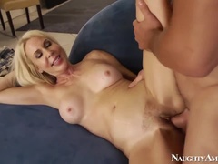 Spicy Bush Mature Lady Erika Lauren, Who Performs In The Video Handjob Xxx